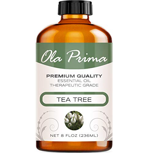 8oz - Premium Quality Tea Tree Essential Oil (8 Ounce with Dropper) Therapeutic Grade Tea Tree Oil