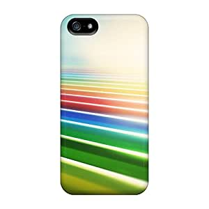 Snap-on Case Designed For Iphone 5/5s- Colorful Fields