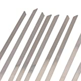Vktech 100pcs Stainless Steel Exhaust Wrap Coated