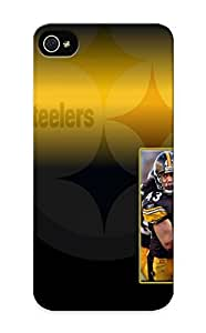 Crooningrose Scratch-free Phone Case For Iphone 5/5s- Retail Packaging - Pittsburg Steelers Nfl Football W