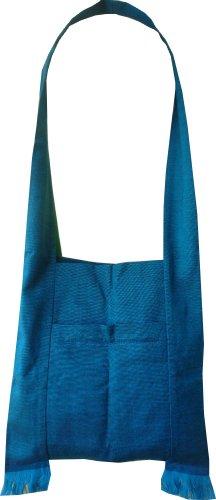 Ariyas Thaishop, Borsa a tracolla donna blu blu