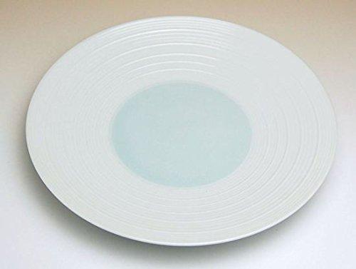 【5枚セット販売】【有田焼】涼青磁 6寸皿 325009 【サイズ】径18.5cm×高さ2.5cm B00VYM12LY