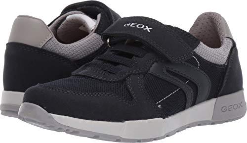 Geox Kids Boy's Alfier Boy 6 (Little Kid/Big Kid) Navy/Grey 32 M EU ()