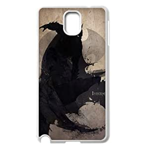 Batman Silhouetted Splatter Superhero Drawing Samsung Galaxy Note 3 Cases, Young Samsung Galaxy Note3 Case Cases Yearinspace {White}