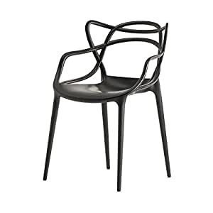 Kartell 586509 Masters - Silla, color negro