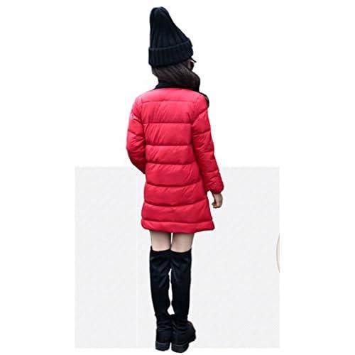 fc95e0d2e Big Girls' Winter Long Down Jacket Parka Powder Puffer Outwear Warm ...