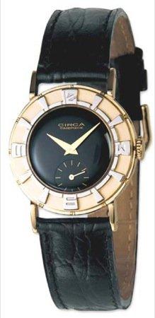 Deco Timepiece Fashion Watch - Circa 1950S Black Deco Watch [Watch]