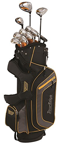Tour Edge Bazooka 260 Men's Box Set, Right Hand, Black/Orange