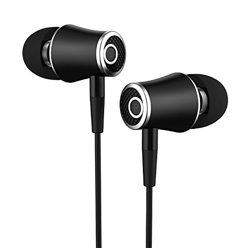 RedSonics R21 In ear 3.5mm Hifi Earbuds Stereo Earphone Bass Headset with microphone for iPhone Phone MP3 PC[ Black ] by RedSonics
