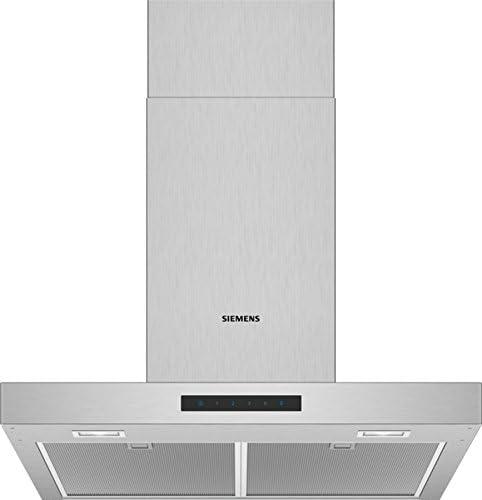Siemens iQ300 LC66BBM50 - Campana (580 m³/h, Recirculación, A, A, C, 60 dB): Amazon.es: Hogar