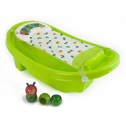 The World of Eric Carle Creative Baby Caterpillar Deluxe Bath Tub, Green