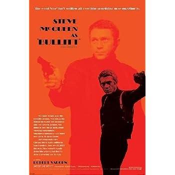Pop Culture Graphics Bullit 27x40 Movie Poster  amazoncom