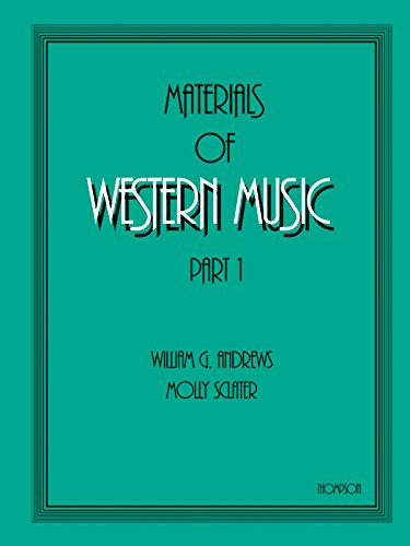 Materials Of Western Music Part 1