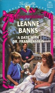 book cover of A Date with Dr. Frankenstein