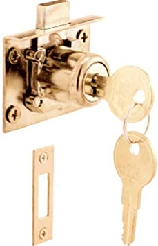 Prime-Line Products U 10666 Drawer and Cabinet Lock Mortise