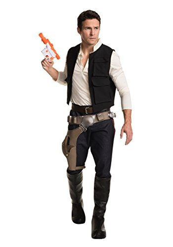 Chewbacca And Han Solo Costumes (Star Wars Classic Grand Heritage Han Solo Costume, Multi, Men's Extra-Large)