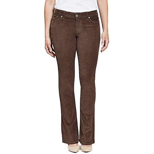 Beija-Flor Jeans Jennifer Bootcut Brown (Cord Bootcut Jean)