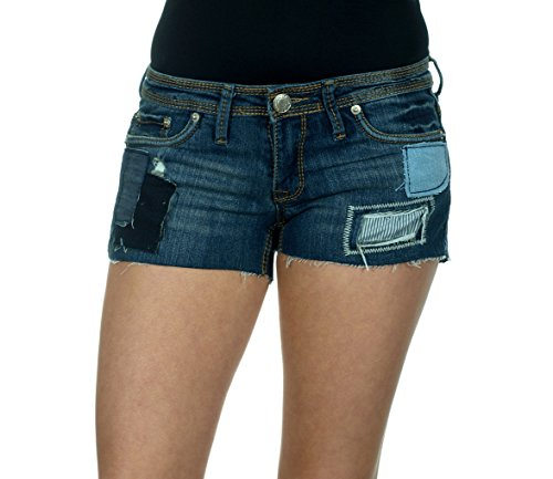 Rue21 Womens Denim Crop Cut Shorts  1 2