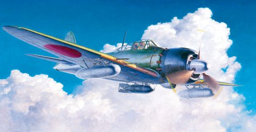 - Hasegawa 09813 Mitsubishi A6M7 Zero Fighter Type 62 1/48 Scale kit