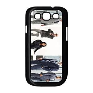 White Collar Samsung Galaxy S3 9300 Cell Phone Case Black 53Go-148876
