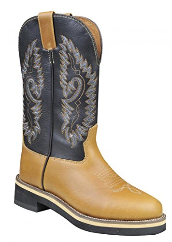 Braun Texas Western In Bovina Stivali london Pelle Hkm vw6q1Rav