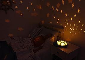 Cloud B Twilight Turtle - Luz nocturna con proyector de estrellas ...