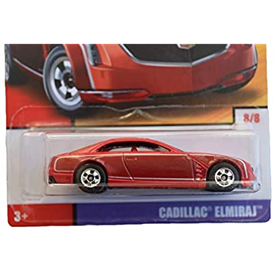 Hot Wheels 1:64 Scale die cast Exclusive Heritage [red] Cadillac Elmiraj 8/8: Toys & Games
