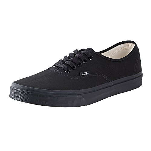 Vans Unisex Authentic Core Skate Shoes Black Black 5 D M  Us