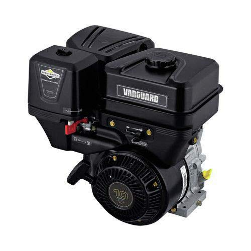 Stratton Level Briggs & - Briggs & Stratton 19L232-0036-F1 305cc 10.0 Gross HP Vanguard Engine with a 1-Inch Diameter by 2-29/32-Inch Crankshaft Tapped 3/8-24-Inch