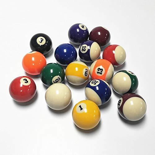 ASports Bola de Billar, tamaño de regulación de Bola de Piscina de ...