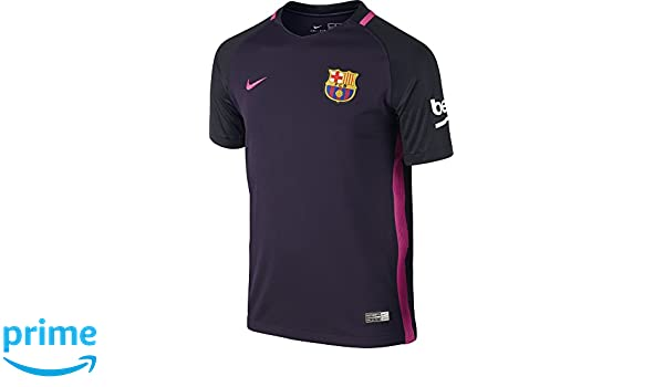 3dabb135308 Amazon.com   Nike Youth FC Barcelona Stadium Jersey-PURPLE DYNASTY (XS)    Sports   Outdoors