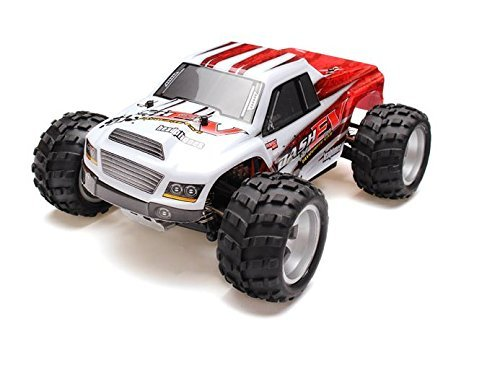 MD Group RC Car Monster Truck 70km/h 1/18-Scale Brushed Motor 4-wheel Drive with Remote Control