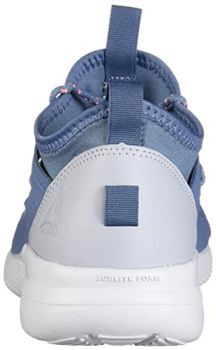 Studio Spirit Reebok Women's Motion Digital Gray White Cardio Cloud Shoes Slate Blue Pink gttwH