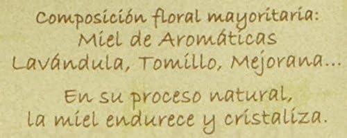 Jalea de Luz Miel Cruda Pura de Lavanda - 500 gr.: Amazon.es ...