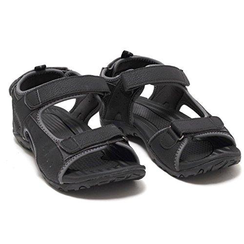 Herren Trekkingsandalen Outdoor Sandaletten Wander Sandalen Schuhe schwarz