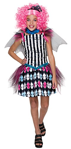Rubie's Costume Monster High Freak Du Chic Rochelle Goyle Child Costume, Large (Monster High Halloween Costumes)