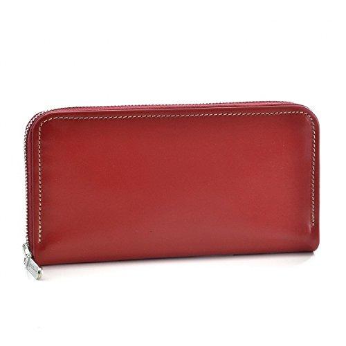 Whitehouse Cox(ホワイトハウスコックス) 財布 メンズ BRIDLE LEATHER ラウンドファスナー長財布 レッド S2722-SC-0004 [並行輸入品] B0777MBMG5