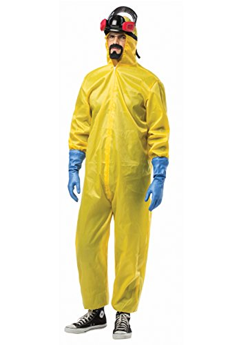 Rasta Imposta Breaking Bad Hazmat Suit, Yellow, One Size]()