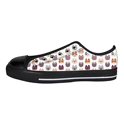 Le Scarpe Lacci Scarpe I Dalliy Alto Shoes Custom Men's Scarpe da Scarpe Ginnastica di Canvas Fox Sopra Tela di in delle WgUUqO7F