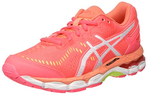 Asics Gel-Kayano 23 Gs, Zapatillas de Gimnasia Unisex Niños Rosa (Diva Pink/white/flash Coral)