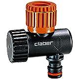 Claber 91040 Stabilizzatore di Pressione, Nero/Arancione/Grigio