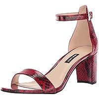 Nine West Women's Pruce Block-Heel Sandals (various colors /sizes)