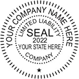 LLC Seal, Shiny, Pocket/Hand