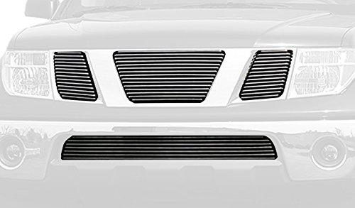 [Carriage Works 42322 Polished Aluminum Billet Grille] (Nissan Pathfinder Carriage)