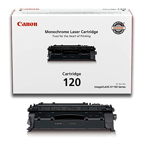 Canon CARTRIDGE120 Toner Cartridge for D1100 Series, Black-in Retail Packaging ()