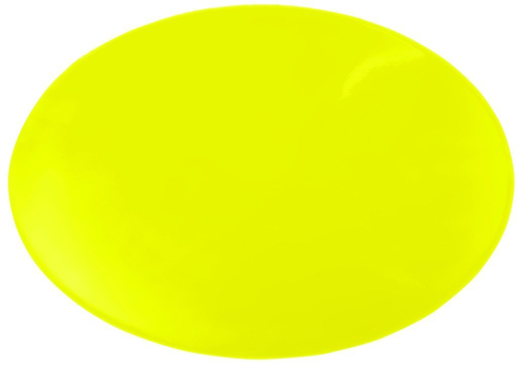 Dycem Non-Slip Circular Pad, 10? Diameter, Yellow, Sold In 1 Piece. by Dycem