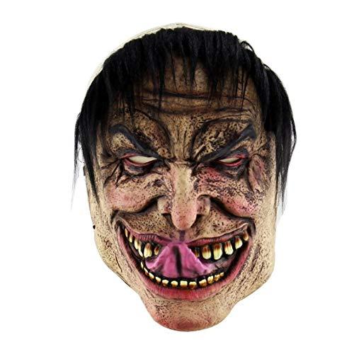 (Party Masks - Party Mask Latex Horrifying With Hat Costume Bar Diy Decoration - Adults Headbands Lace Stick Kids Capes Party Couples Women Glasses Bulk Masks Wear Male Superhero Dinosaur)