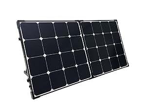 Renogy 100 Watt Eclipse Monocrystalline Solar Suitcase with Charge Controller