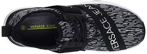 Jeans Grigio Shoes Couture Uomo 800 grigio Sneaker Versace TqXdT