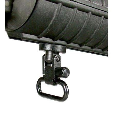 Ultimate Arms Gear Two Steel 1.25'' Inch QD Slot Loop Swivels To Allow Attachment of Sling +Canvas Two-Point Sling, Black for Mossberg 500/535/590/835/ Maverick 88 12/20 Gauge Shotgun by Ultimate Arms Gear (Image #8)